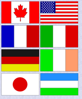 Flags of the world by The-12th-Doctor86