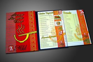 Asian Noodle Club Menu Book by PropaG4nda