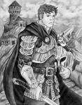 Captain of the Guard by brightswordsman
