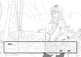 Nell WIP by ComiPa