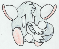 Me - frightened - colored by MetaKnight2716