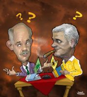 papandreou-caricature by efdemon