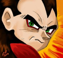 Vegeta SSJ4 by dragonballdeviants