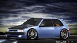 1994 Citroen Saxo by CLD by ClaudaoCLD