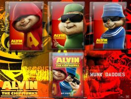 Alvin DVD Case Icon Pack by gandiusz