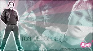 Tom Delonge sig by alanlpu