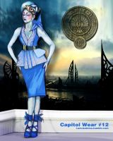 Hunger Games - Capitol Wear - no.12 by lizzomarek