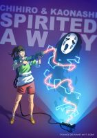 Spirited Away BADASS by Tohad