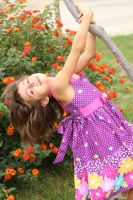 Daughter Swinging :) by 7whitefire7