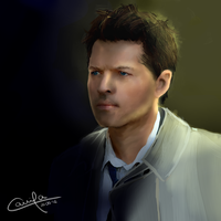 Angel Castiel (edited) by Camizong