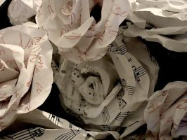 Paper Roses 1 by NightingaleOnFire