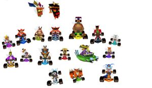 crash team racing by bandicoot9898