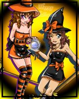 CE: Pumpkin Witchs :D by destinywolf102
