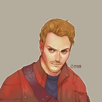 Starlord by simoneferriero