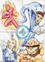 Sketch Cards: FF v2 by JasonShoemaker