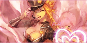 Popstar Ahri Sig Request V2 by KyuubiConduit