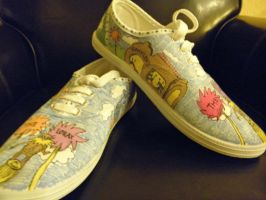 Lorax Shoes by MaryGracee