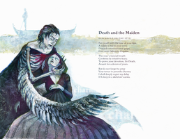 E.M.Wylie: Death and the Maiden by Ultima-eFFik
