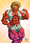 Physics Nerd Beth - Hulk Out (Red) by LunarDiaries