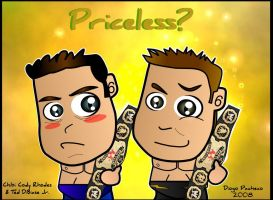 Cody Rhodes and Ted DiBiase Jr by kapaeme