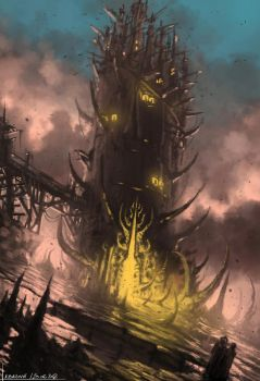 Limmor Tower Speed Paint - Project Antharra by SkavenZverov
