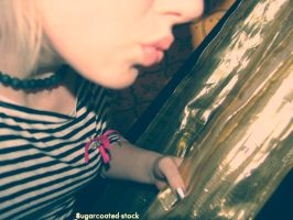 Kiss The Stripes 002 by sugarcoated-stock