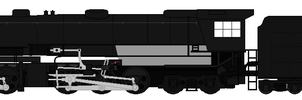 Union Pacific 3800 Challenger Base by 736berkshire