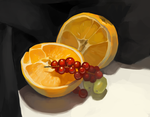 Still life - Fruits by Luccorvus