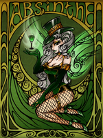 Poster01: Absinthe by HechiceraRip