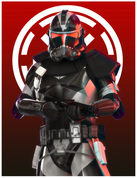 Clone Shadow Trooper by Okarinrentarou
