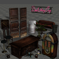 DMC4 Shop Furniture and Items by RyuAensland