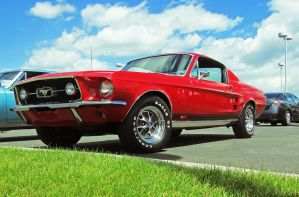 67 Mustang GT by tundra-timmy