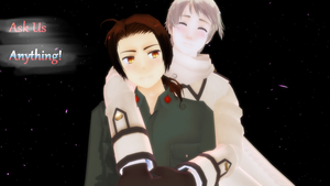 Ask us anything! by MMD-AskRochu