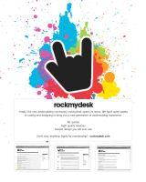 rockmydesk.com - register now by monstrrr