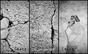 Crack after another crack. by sunnySIDEofME