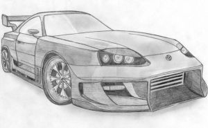 Toyota Supra Tuned by Arek-OGF