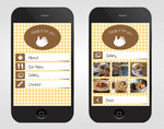 Restaurant mobile website by Mushy-Gushy