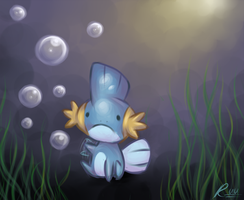 Mudkip wants teh bubbles by Lady-Von-Derpington