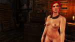 Triss Alternative Outfit by TKone