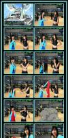 Rinoa's First Attempt to Cosplay by CrystalMoonlight1