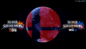 Super Smash Bros. Wii U/3DS Logo Wallpaper #71 by TheWolfBunny
