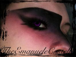 Purple Poison - Make up by TheEmanueleCastelli