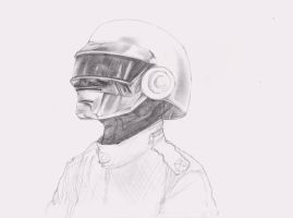 Thomas in pencil WIP by DeviantDolphinART
