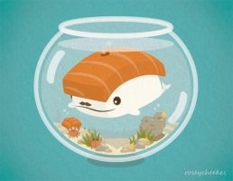 Fish Bowl by orangecircle