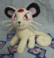 Custom Pokemon Plush Persian *sold*