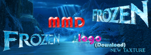 [MMD] Frozen logo DOWNLOAD (NEW TAXTURE) by TODIRI