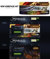 OpenRaid - New Home Page Banner - Compilation by PaulWhipps