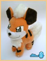 Growlithe by BlueRobotto