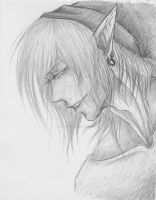 Dark Link: Redo Sketch by emerald-eyez333