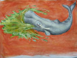 Raging Chunder Whale by GiamL